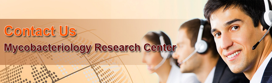 Contact us,Mycobacteriology Research Center (MRC),National Research Institute of Tuberculosis and lung diseases,NRITLD,Niavaran ave,Daar-Abad